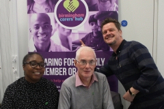 Terry Rigby and team of Birmingham Carers Hub